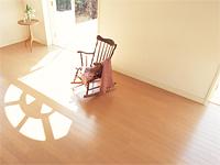 お部屋の使い方に合わせた床材の選択